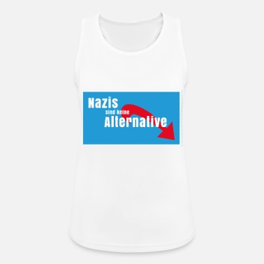 Nazi Nazis are no alternative to Nazis out AFD - Women's Breathable Tank Top