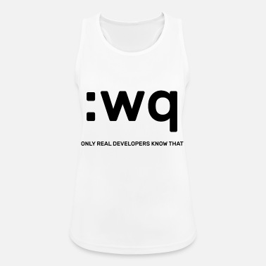 Vim Developers - Frauen Sport Tanktop