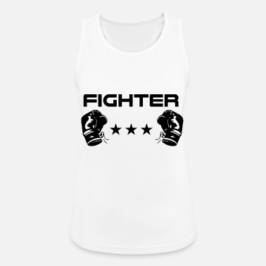 Fighter Fighter fighter - Sports tanktop dame