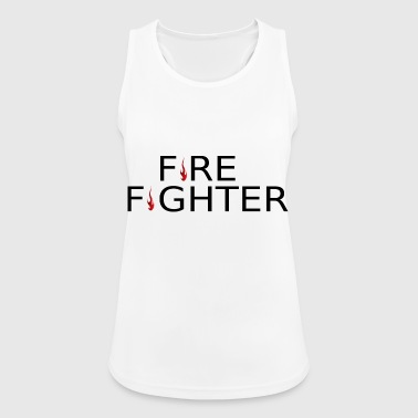 Fire Fighter Fire fighter flame - Women's Breathable Tank Top