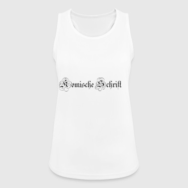 Font font - Women's Breathable Tank Top