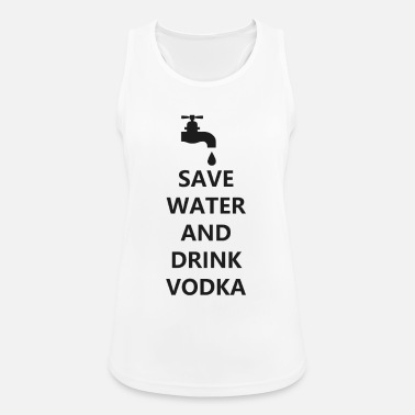 Bar Pub Water vodka funny drunk cocktail bar pub - Women's Sport Tank Top