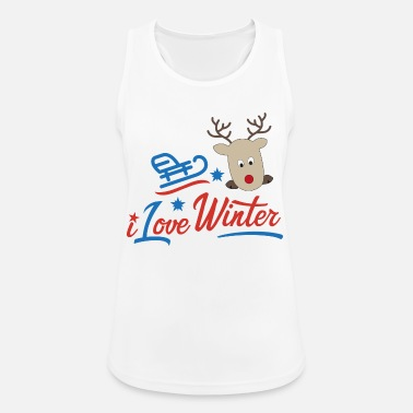 vinter - Sportsinglet for kvinner