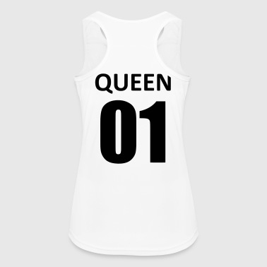 queen 01 - Top da donna traspirante