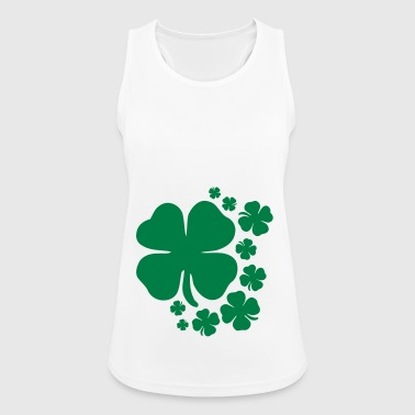 Shamrock St. Patrick's Day Lucky Charm Ireland - Women's Breathable Tank Top