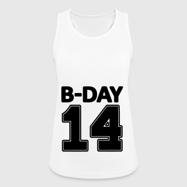 14 number fourteen / birthday number number jersey - Women's Breathable Tank Top