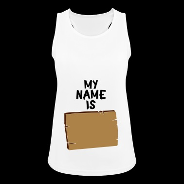 DEIN NAME - Frauen Tank Top atmungsaktiv