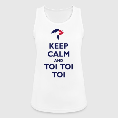 Keep Calm and Toi Toi Toi - Women's Breathable Tank Top