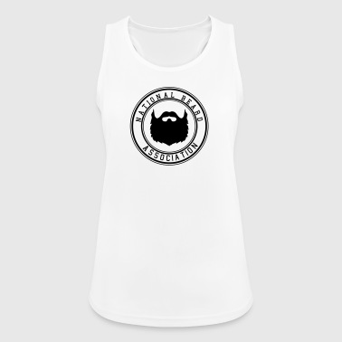 National Beard Association - Pustende singlet for kvinner