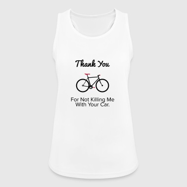 Thank you - For the provocative cyclist. - Women's Breathable Tank Top