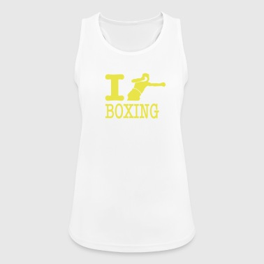 i love boxing boxer - Women's Breathable Tank Top