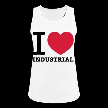 Amo industriale Techno Music - Top da donna traspirante