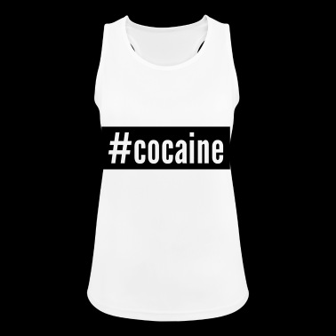 cocaina - Top da donna traspirante