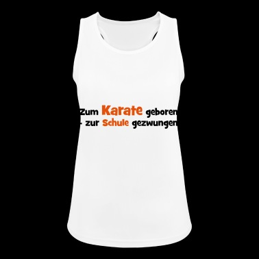 2541614 14192264 karate - Frauen Tank Top atmungsaktiv