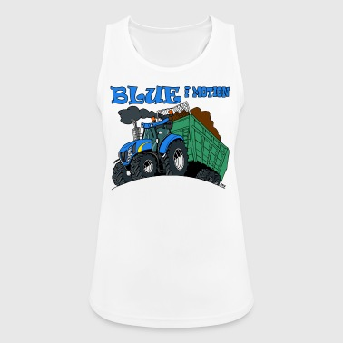 Blue in motion - Women's Breathable Tank Top
