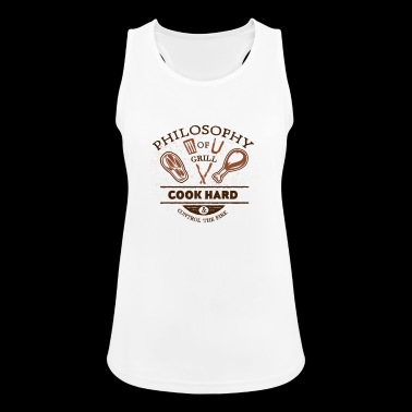 PHILOSOPHY go barbecue - Women's Breathable Tank Top