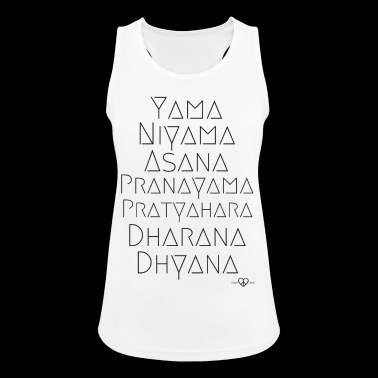 The eight stages of yoga - Women's Breathable Tank Top