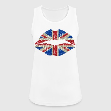 Sexy lips Great Britain England Union Jack - Women's Breathable Tank Top