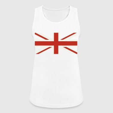 Union Jack Pale - Women's Breathable Tank Top