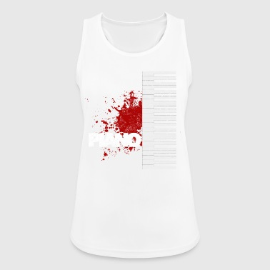 piano - Women's Breathable Tank Top