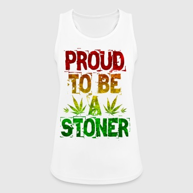 Proud To Be A Stoner - Women's Breathable Tank Top