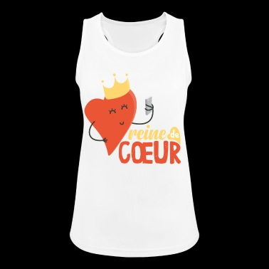 Queen of Hearts! - Women's Breathable Tank Top
