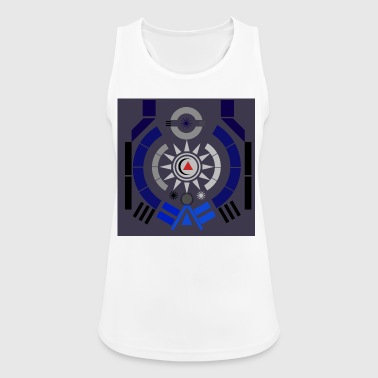 illustration - Women's Breathable Tank Top