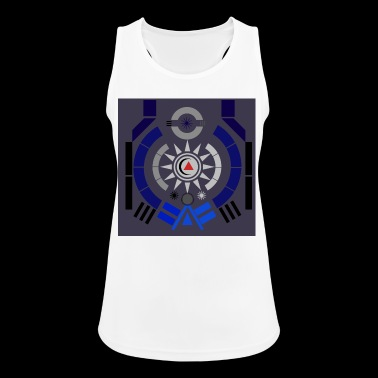 Illustration - Frauen Tank Top atmungsaktiv