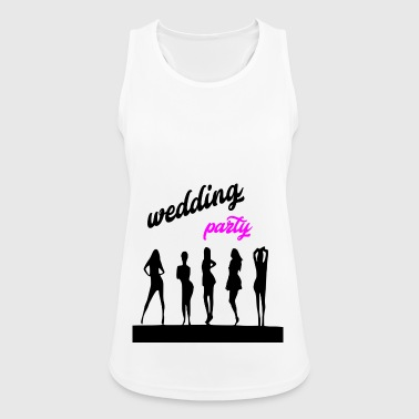 wedding party 7 - Women's Breathable Tank Top