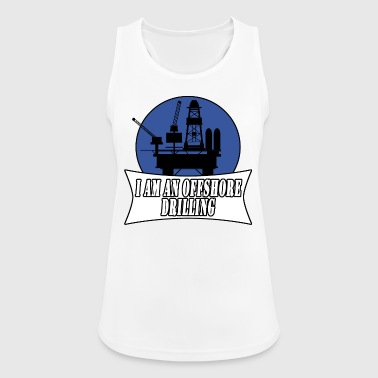 drilling rig - Women's Breathable Tank Top