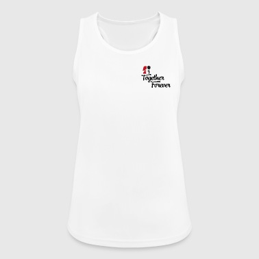 bride and groom - Women's Breathable Tank Top