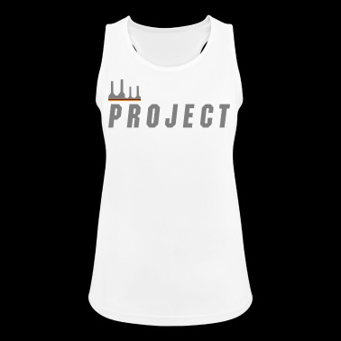 The Project, silver - Women's Breathable Tank Top