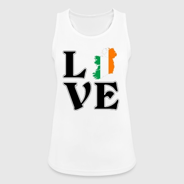 I love Ireland - Ireland - gift - Women's Breathable Tank Top