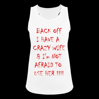 Crazy Wife - Women's Breathable Tank Top