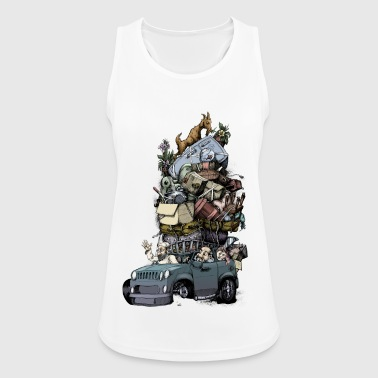 Road trip - Women's Breathable Tank Top