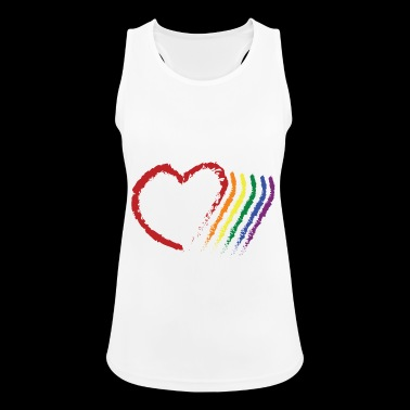 CORAZON PRIDE - Women's Breathable Tank Top