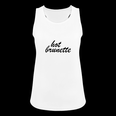 Hot Brunette - Women's Breathable Tank Top