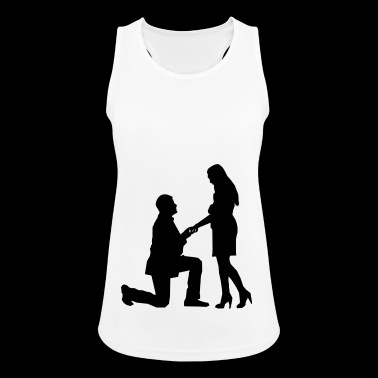 proposal of marriage - Women's Breathable Tank Top