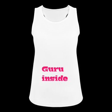 guru all'interno - Top da donna traspirante