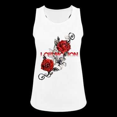 Low Motion Flower - Women's Breathable Tank Top