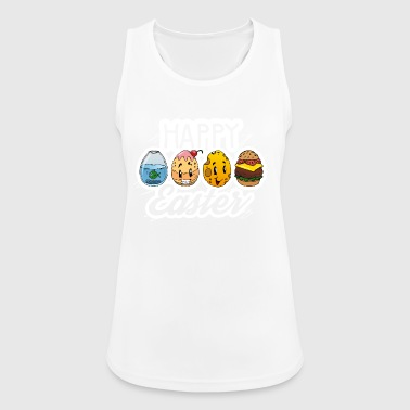 Happy Easter - easter egg design - Women's Breathable Tank Top