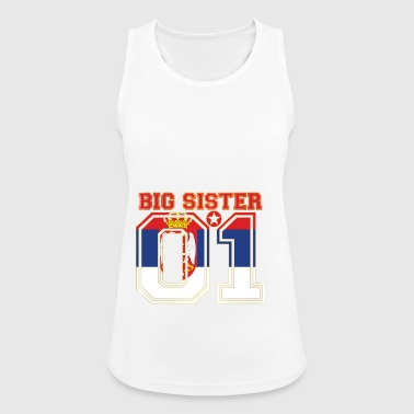 Schwester queen big sister 01 Serbien - Frauen Tank Top atmungsaktiv