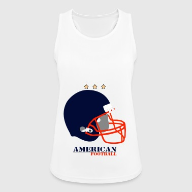 American football - Women's Breathable Tank Top