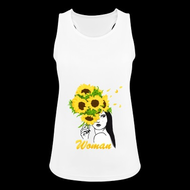 Blooming Woman - Women's Breathable Tank Top