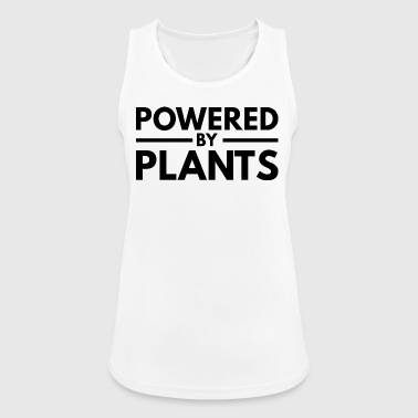 Powered by Plants, black - Women's Breathable Tank Top