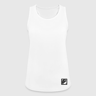 Perform To Perfect Unique Black - Women's Breathable Tank Top