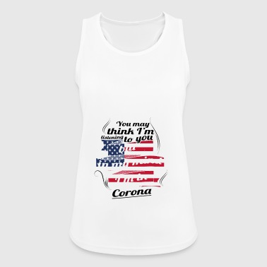 THERAPY HOLIDAY AMERICA USA TRAVEL Corona - Women's Breathable Tank Top