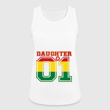 Daughter 01 daughter queen Bolivia - Women's Breathable Tank Top