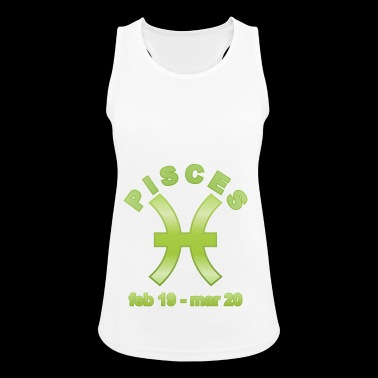 Pisces Horoscope - Women's Breathable Tank Top