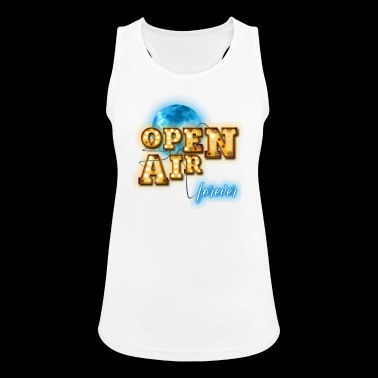 open Air - Pustende singlet for kvinner